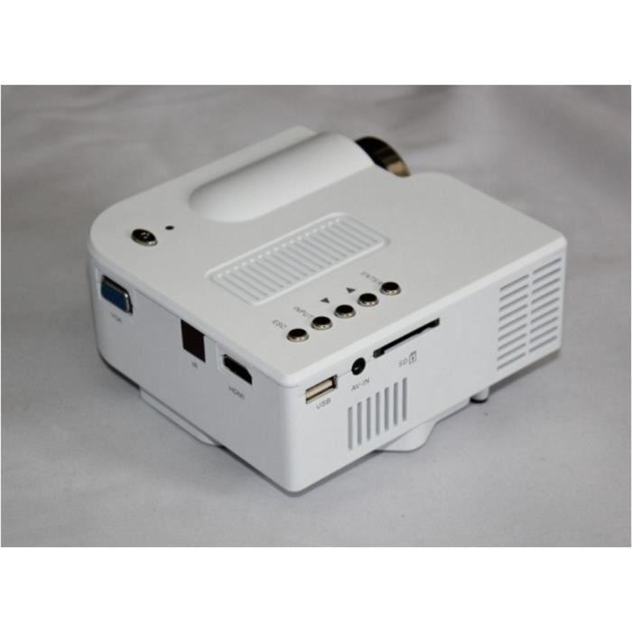 maison projecteur mini hd 1080p mini projecteur led portable vid oprojecteur avis et prix pas. Black Bedroom Furniture Sets. Home Design Ideas