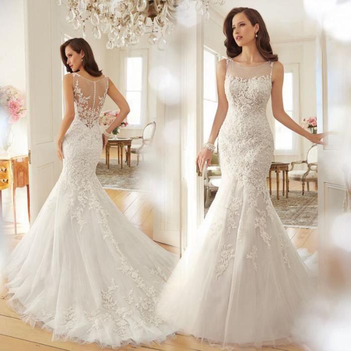 accessoires de mariage une robe de mari e dentelle de fuite de la robe de mariage de dos en. Black Bedroom Furniture Sets. Home Design Ideas