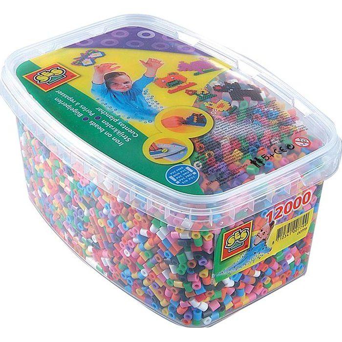 PERLES A REPASSER Boîtes 12000 Perles Mix