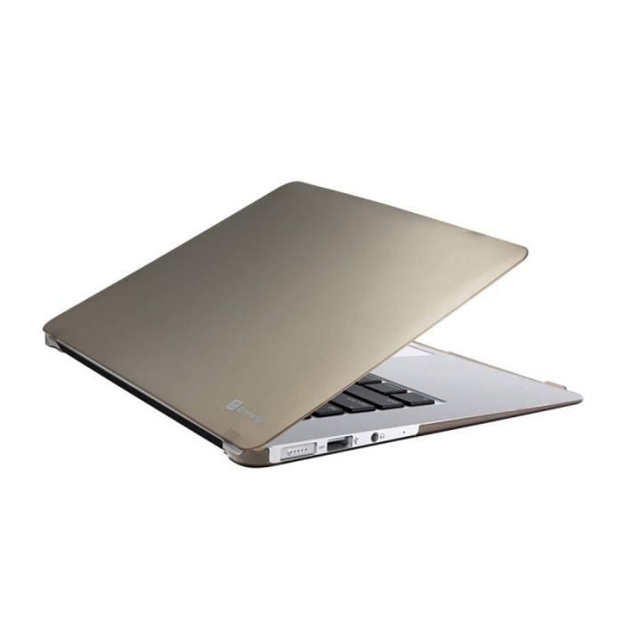 Housse l g re en polycarbonate dur pour macbook air 13 for Housse macbook air 13 pouces