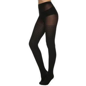 COLLANT MEANEOR - collant femme sexy élastique solide - No