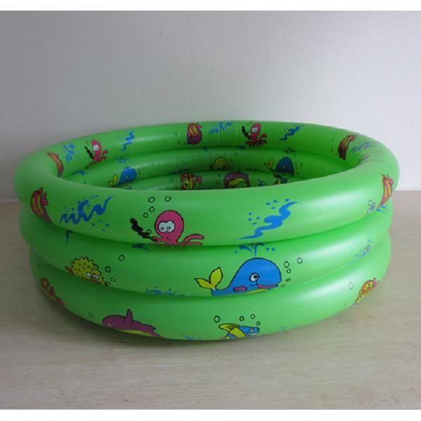 90cm vert baignoire gonflable b b poisson rond de bande. Black Bedroom Furniture Sets. Home Design Ideas