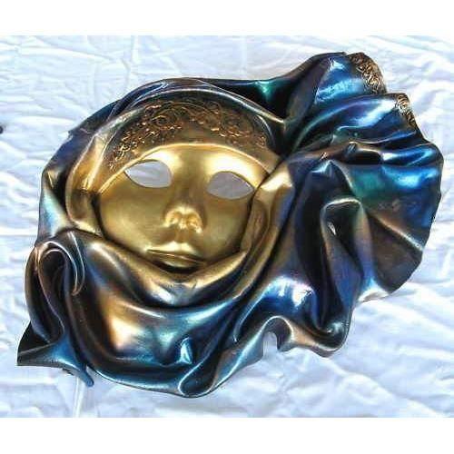 Masque v nitien en cuir et ceramique achat vente objet - Masque venitien decoration ...