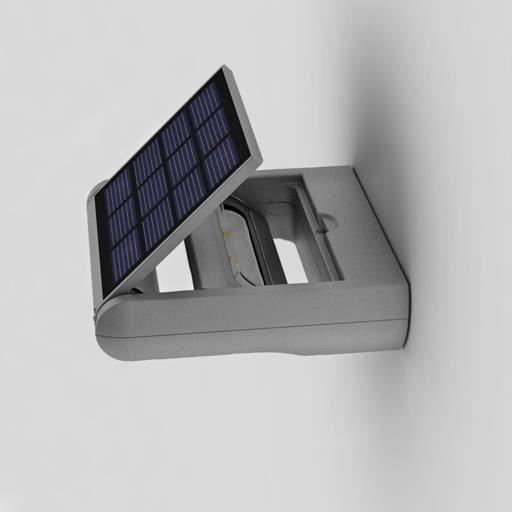 Applique solaire murale mini ledspot achat vente for Eclairage exterieur applique murale solaire
