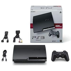 console ps3 320 go achat vente console ps3 320 go pas cher cdiscount. Black Bedroom Furniture Sets. Home Design Ideas