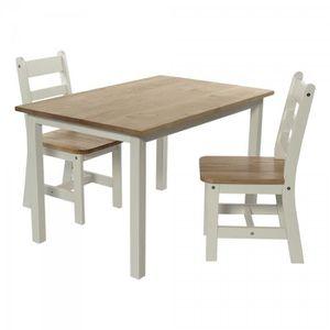 table enfants avec deux chaise achat vente table enfants avec deux chaise pas cher cdiscount. Black Bedroom Furniture Sets. Home Design Ideas