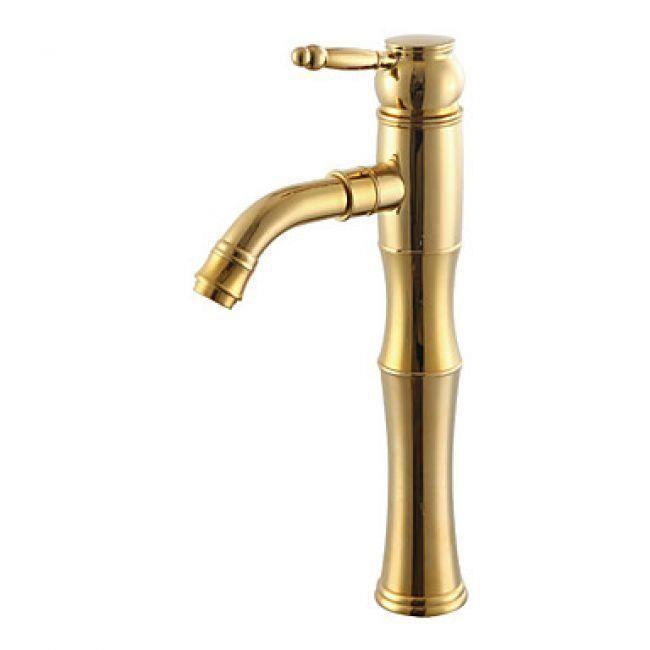 Lookshop robinet salle de bain couleur or et de style for Salle de bain style antique