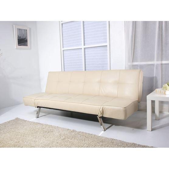 canap lit en cuir fauteuil noble en cuir v rita achat vente canap sofa divan cuir. Black Bedroom Furniture Sets. Home Design Ideas