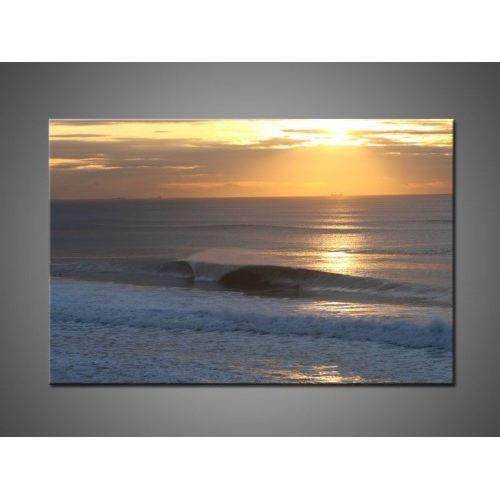 Tableau moderne coucher de soleil achat vente tableau toile cdiscount - Tableau sur toile moderne ...