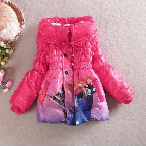 manteau doudoune reine des neiges rose rose achat vente doudoune cdiscount. Black Bedroom Furniture Sets. Home Design Ideas