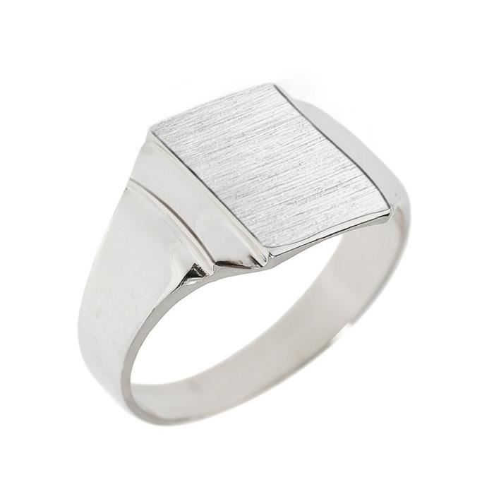 Chevaliere Homme Or Blanc Pas Cher Cool Costume Jewelry