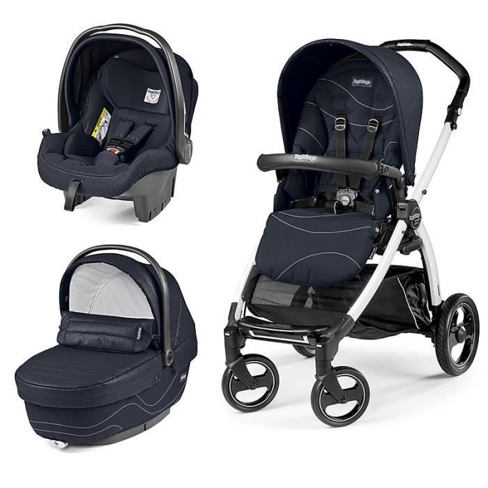 trio book peg perego bloom navy chassis bp 51 blanc noir. Black Bedroom Furniture Sets. Home Design Ideas