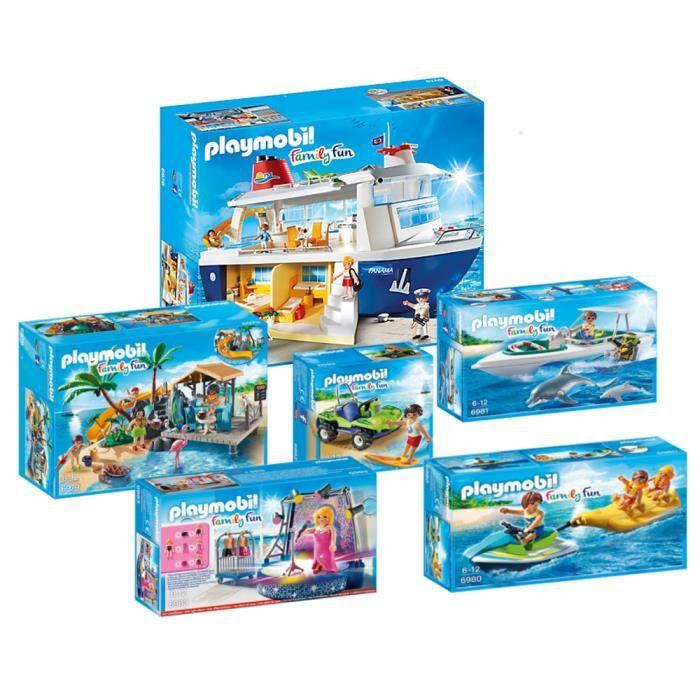playmobil bateau de croisi re set complet 6978 6979 6980 6981 6982 6983 new achat vente. Black Bedroom Furniture Sets. Home Design Ideas