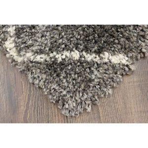 Tapis shaggy gris 200x290 achat vente tapis shaggy - Tapis shaggy gris 200x290 ...