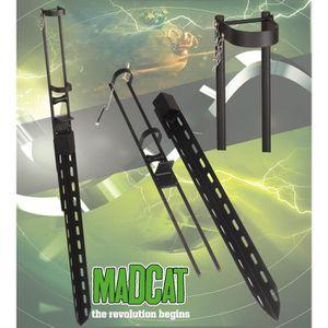CANNE À PÊCHE MADCAT FRONTGATE Rod Rest, 126cm, 3,50kg - Supp...