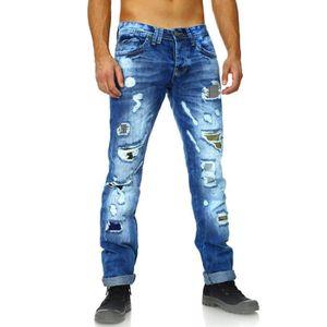 jeans dechire homme jeans achat vente jeans dechire. Black Bedroom Furniture Sets. Home Design Ideas