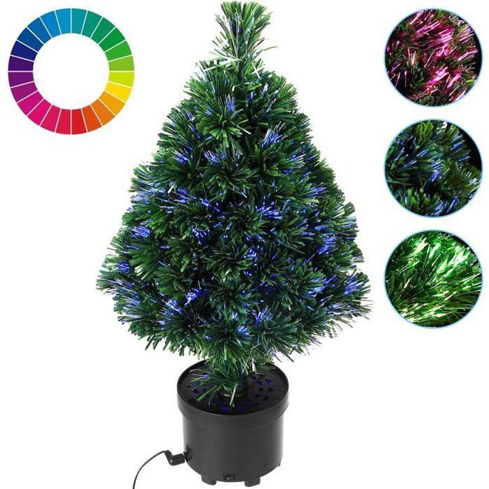 sapin de no l 9 effets d 39 clairage diff rents achat vente sapin arbre de no l cdiscount. Black Bedroom Furniture Sets. Home Design Ideas