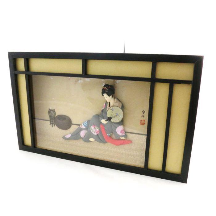 Tableau japonais geisha dor noir achat vente - Tableau jardin japonais ...