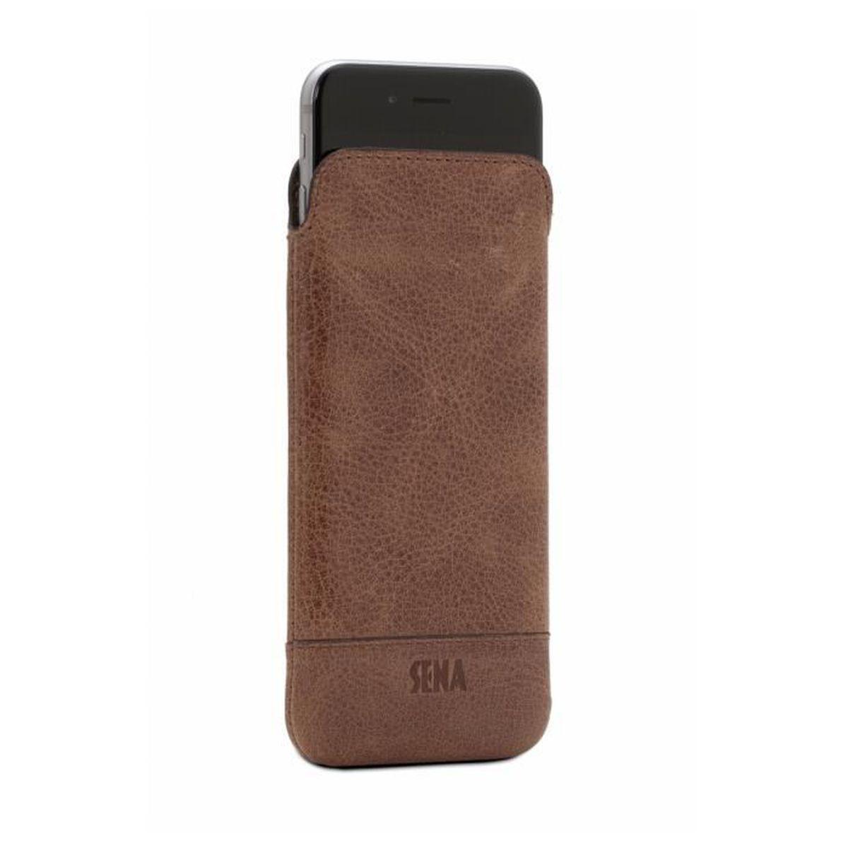 Housse iphone 7 plus en cuir v ritable ultra slim h ritage for Housse iphone 7 plus cuir