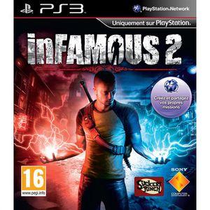 JEU PS3 INFAMOUS 2 / Jeu console PS3