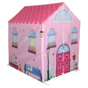 tente enfant fille interieur achat vente jeux et jouets pas chers. Black Bedroom Furniture Sets. Home Design Ideas