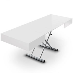 Table basse relevable cassidy blanc achat vente table basse table basse cassidy blanc bois - Table basse relevable cassidy ...