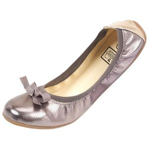 BALLERINE Chaussures mode ville Lilou  perf metal grey