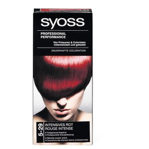 coloration syoss coloration 5 29 rouge intense - Syoss Coloration Prix