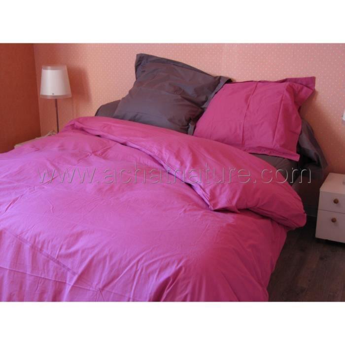 drap de lit bio lit 1 personne 180 x 290 cm coloris fuschia achat vente drap plat cdiscount. Black Bedroom Furniture Sets. Home Design Ideas
