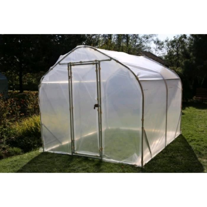Serre de jardin tunnel semi professionnelle 2 5x2x2m - Vente de serre de jardin ...
