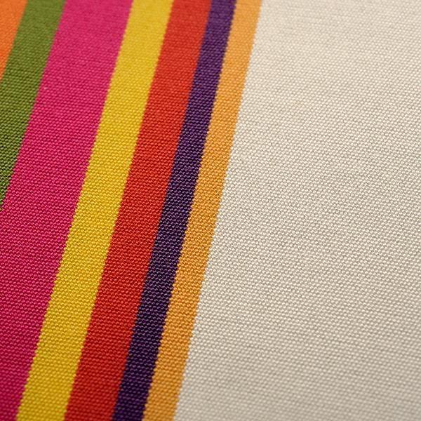 toile de transat rayee cap ferret orange achat vente chaise longue transat toile de. Black Bedroom Furniture Sets. Home Design Ideas