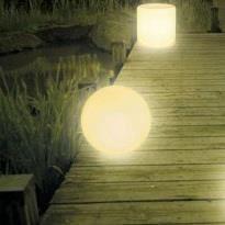 Boule lumineuse pour jardin 50cm de diam tre achat - Boules lumineuses jardin ...