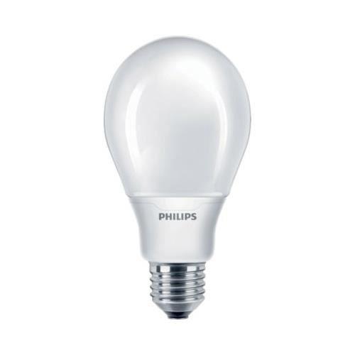 ampoule fluocompacte philips softone esaver e27 18w. Black Bedroom Furniture Sets. Home Design Ideas