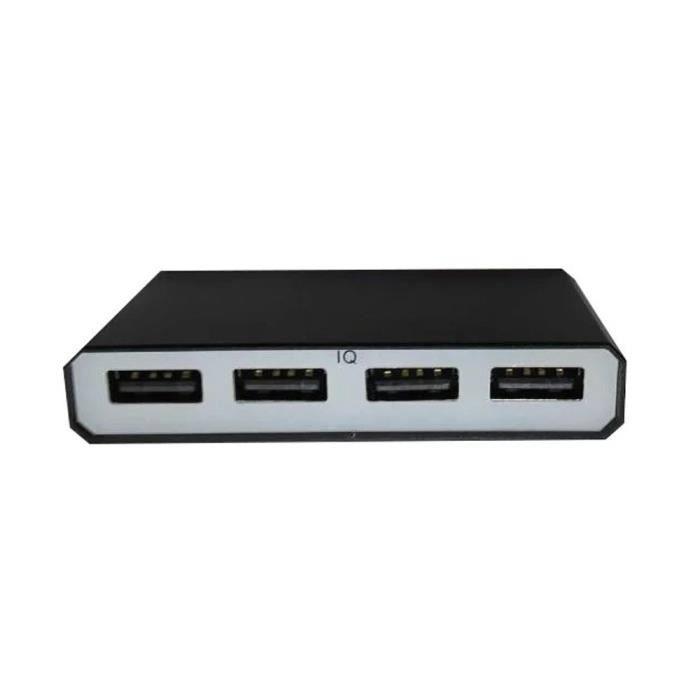 4 port usb voiture chargeur rapide smart ports de charge pour apple ou android t l phones. Black Bedroom Furniture Sets. Home Design Ideas
