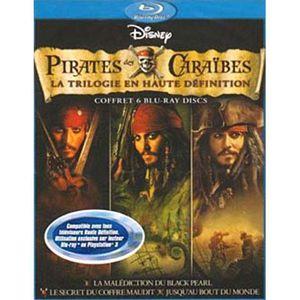 DVD FILM Blu-Ray Coffret pirates des Caraïbes