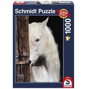 SCHMIDT and SPIELE Puzzle Adulte Beauté chevaline - 1000 pcs