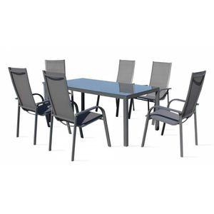 Table de jardin avec parasol achat vente table de - Table de jardin avec parasol ...