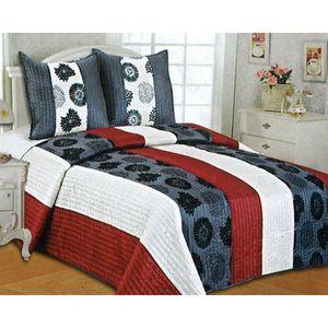 couvre lit jet de lit achat vente couvre lit jet de lit pas cher soldes d hiver. Black Bedroom Furniture Sets. Home Design Ideas