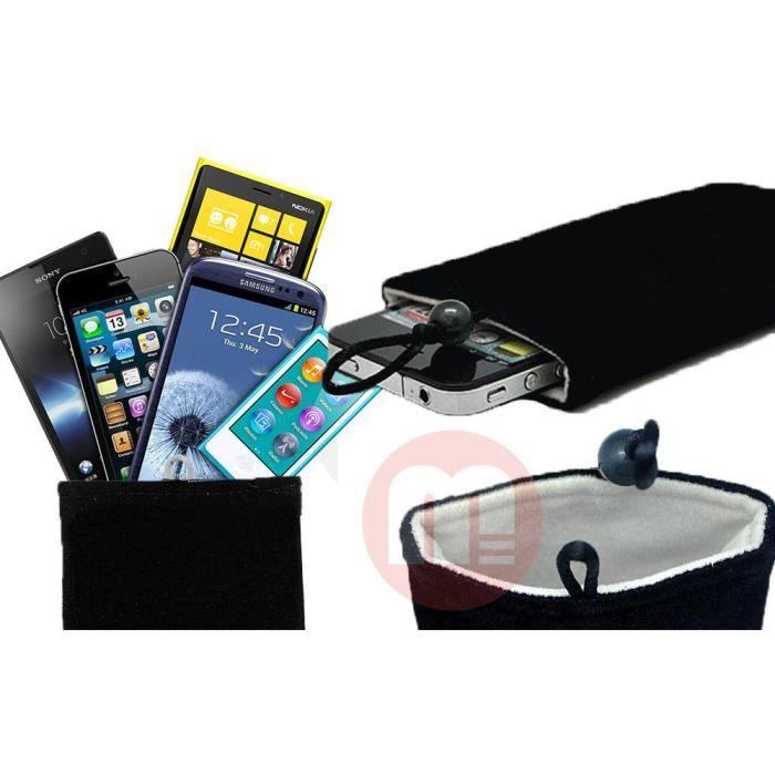 Pochette housse t l phone flanelle universel iphone mp3 for Mp4 qui fait appareil photo