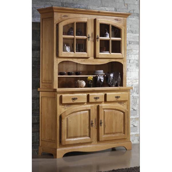 vaisselier ch ne massif sculpt 39 lorraine 39 achat vente vaisselier living vaisselier ch ne. Black Bedroom Furniture Sets. Home Design Ideas
