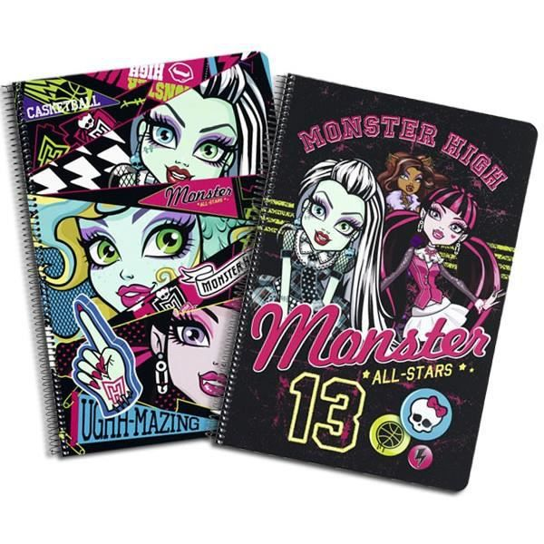 Monster high cahier spirale a4 all stars achat vente cahier monster hig - Vente de monster high ...