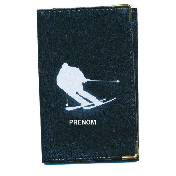 pochette etui protection porte carte grise papiers voiture permis de conduire ski skieur. Black Bedroom Furniture Sets. Home Design Ideas