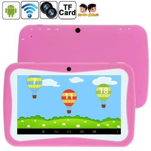 Tablette tactile android enfant rose 7 0 pouc achat - Tablette tactile enfant leclerc ...