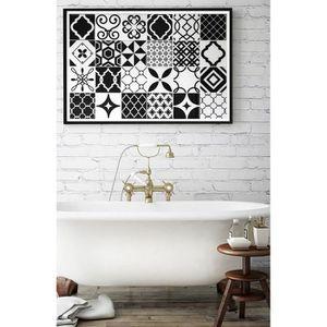 carrelage adhesif cuisine achat vente carrelage adhesif cuisine pas cher les soldes sur. Black Bedroom Furniture Sets. Home Design Ideas