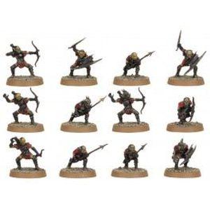 FIGURINE - PERSONNAGE Guerriers Gobelins de la Moria