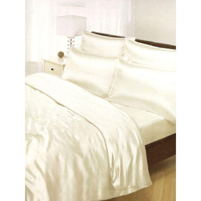 satin ensemble housse de couette drap housse achat. Black Bedroom Furniture Sets. Home Design Ideas