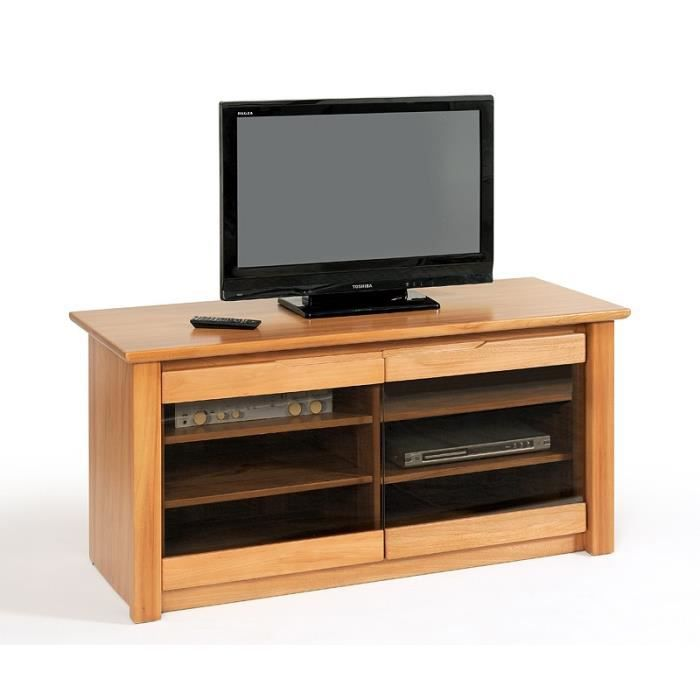 Meuble t l plasma olympe orme orme taupe achat for Meuble orme massif contemporain