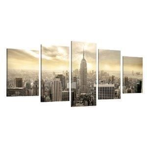 Tableau deco moderne toile new york empire state 1 achat for Tableau moderne new york