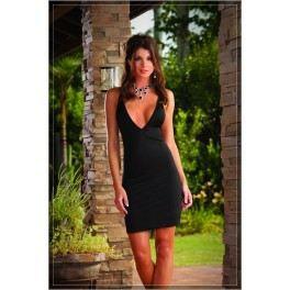 dos nu avec dent? Noir Achat / Vente robe Robe vip noire, dos nu