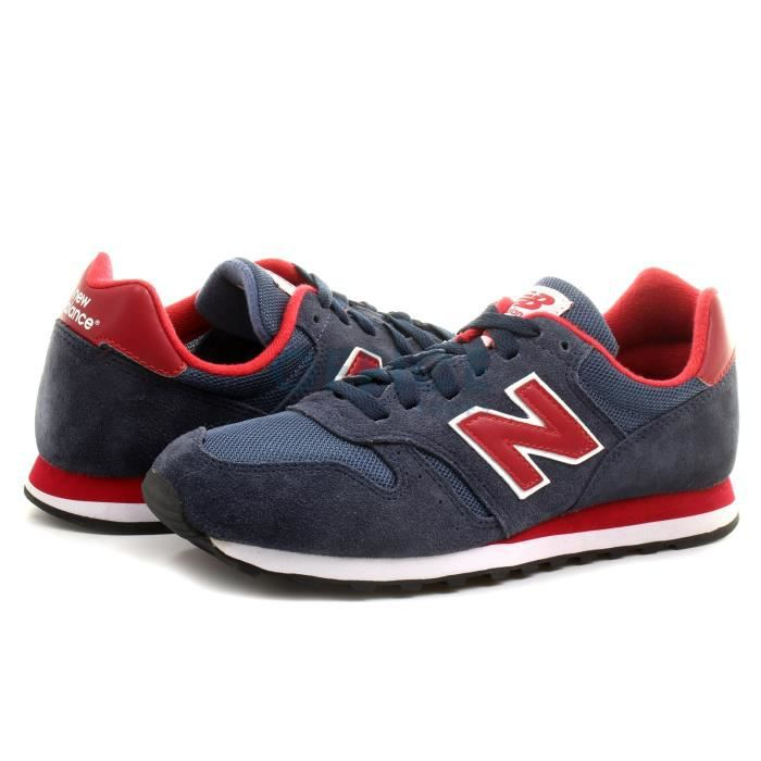 basket new balance homme bleu marine et rouge achat. Black Bedroom Furniture Sets. Home Design Ideas